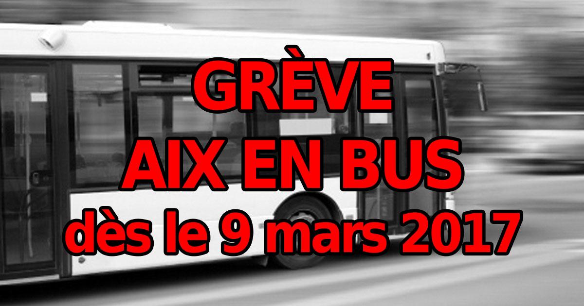 Annul e gr ve des bus aix en provence aix en bus d s - Aix en provence salon de provence bus ...